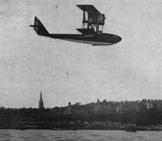 SIAI S.13 - Image: SIAI S.13 in flight