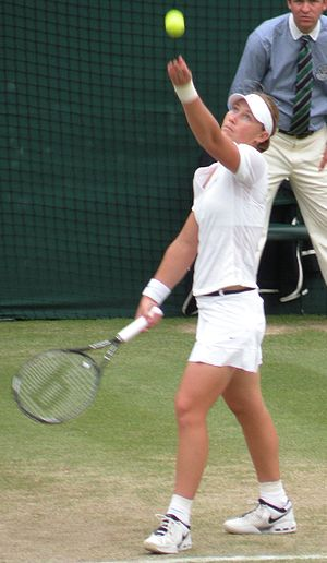 Samantha Stosur - Stosur at the 2008 Wimbledon Championships