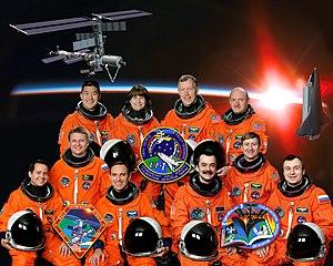 STS-108 crew