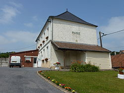 Sachin (Pas-de-Calais, Fr) mairie.JPG