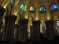 Sagrada-Familia - Krypta - Rundgang-mit-7-Einzelkapellen.JPG
