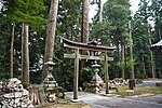 Saguriten-Shrine in Iwayama, Ujitawara, Kyoto July 6, 2018 18.jpg