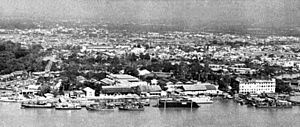Republic of Vietnam Navy - The Saigon Naval Shipyard, 1968. Headed by Navy Captain – Functional Navy Commodore Nguyễn Văn Lịch