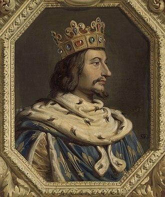 Charles V of France - Imaginary portrait, 1838