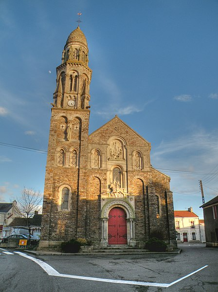 Church of Saint-Fiacre-sur-Maine