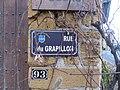 Saint-Germain-sur-l'Arbresle - Rue du Grapillon (plaque).jpg