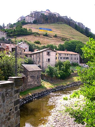 Saint-Flour, Cantal - A general view of Saint-Flour