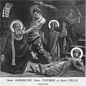 Image illustrative de l'article Thyrse (saint)