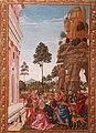 Saint Bernardino Reviving a man found under a tree on the road to Verona by Pinturicchio.jpg