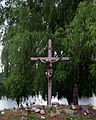 Saint Mary Magdalen Church (Brighton, Michigan) - Crucifixion scene.jpg