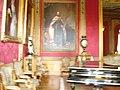 Sala del Castillo de Chapultepec con pintura de Maximiliano de Habsburgo.jpg