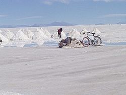 Salar de Uyuni making salt.jpg