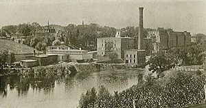 Rollinsford, New Hampshire - Salmon Falls Mfg. Co. in 1906