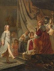 Salome dancing for Herod