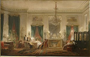Mathilde Bonaparte - Inside Princesse Mathilde's mansion, rue de Courcelles (until 1857)