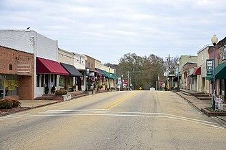 Saltillo, Mississippi - East Mobile Street in Saltillo