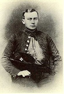 Watkins in uniform, ca. 1861