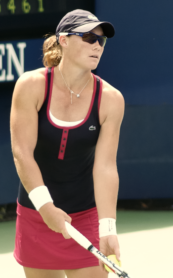 Samantha Stosur at the 2009 US Open