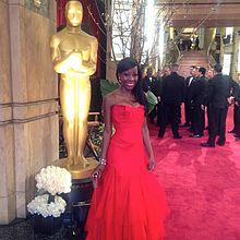 Samata Angel at Annual Academy Awards, February 2013.jpg