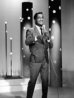 Sammy Davis Jr. performing 1966