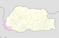 Samtse Bhutan location map.png