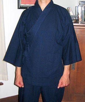 Samue - A samue being worn.