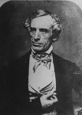 Timeline of North American telegraphy - Samuel Morse in 1845.