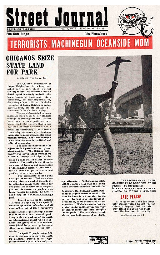San Diego Street Journal cover
