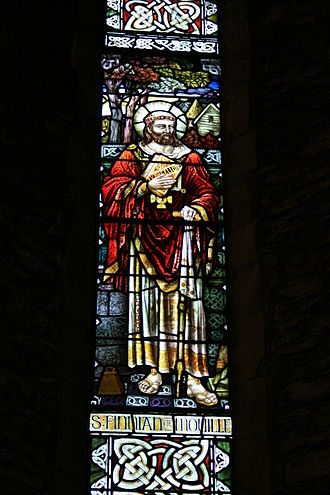 Finnian of Movilla - Image: San Finnian di Moville