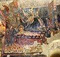 San lorenzo in insula, cripta di epifanio, affreschi di scuola benedettina, 824-842 ca., martirio di san lorenzo 00,1.jpg