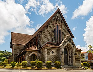 St. Michael's and All Angels Church, Sandakan - Image: Sandakan Sabah St Michael And All Angels 00a