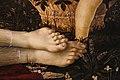 Sandro botticelli e bottega, venere e tre putti, 1475-1500 ca. 08 piedi.jpg