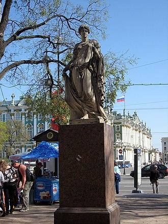 Alexander Garden (Saint Petersburg) - Image: Sankt Petěrburg 130