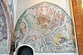 Sankt Georgen a L Launsdorf Pfarrkirche Mariae Himmelfahrt Chorturm-N-Wand Christus in Mandorla 12032013 139.jpg