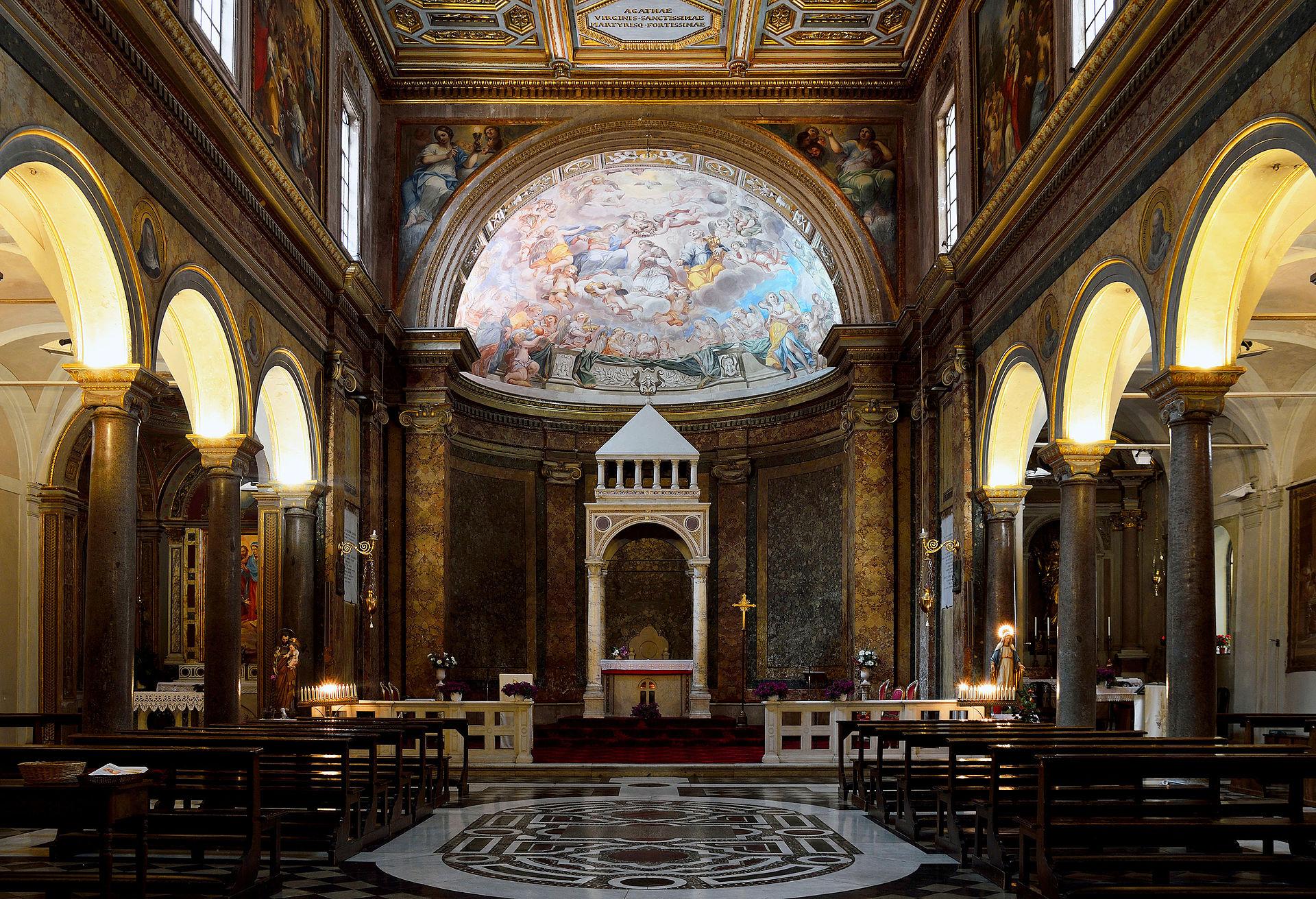 Px Sant Agata Dei Goti Rome Interior