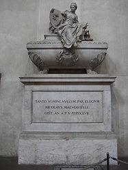 Santa Croce Machiavelli cenotaph.jpg