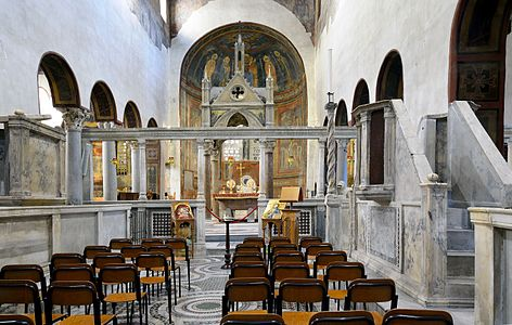 Santa Maria in Cosmedin (Rome) - Ciborium