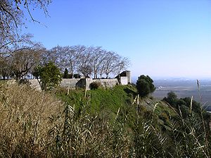 Scalabis - Santarem Castle hill, original fortified area of Scallabi Castrum