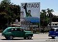 Santiago, «Rebelde ayer, hospitalaria hoy, heroica siempre» - Lema santiaguero - panoramio.jpg