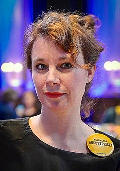 Sara Stridsberg 2014.