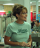 Palin in Kuwait, 2007