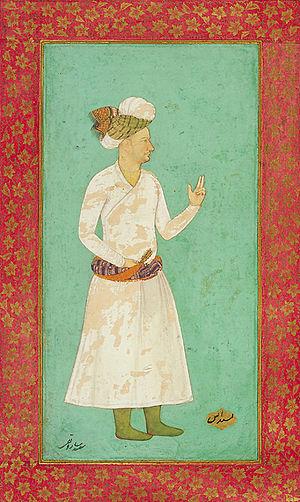 Saru Taqi - Mughal painting of Saru Taqi.