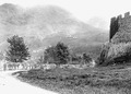 Saumtierkolonne beim Schloss Uri - CH-BAR - 3239564.tif