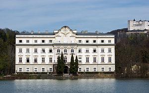 Schloss Leopoldskron - Schloss Leopoldskron and the Hohensalzburg fortress