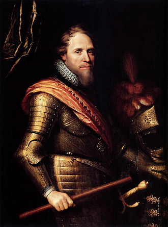Twelve Years' Truce - Stadtholder Maurice of Nassau by school of Michiel Jansz. van Mierevelt.