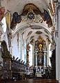 Schussenried Klosterkirche Chorbogen und Chor 02.jpg