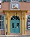 Schwetzingen Gasthaus zum Goldenen Hirsch Portal.jpg