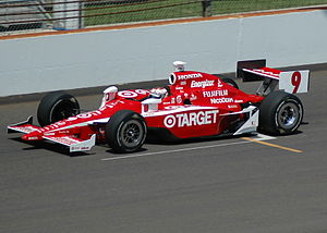 Scott Dixon - Practicing for the 2007 Indianapolis 500
