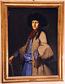 Scuola bergamasca, ritratto d'uomo in costume dalmata, 1730 ca..JPG