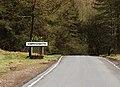 Seasonal welcome to Cwmystwyth - geograph.org.uk - 755673.jpg